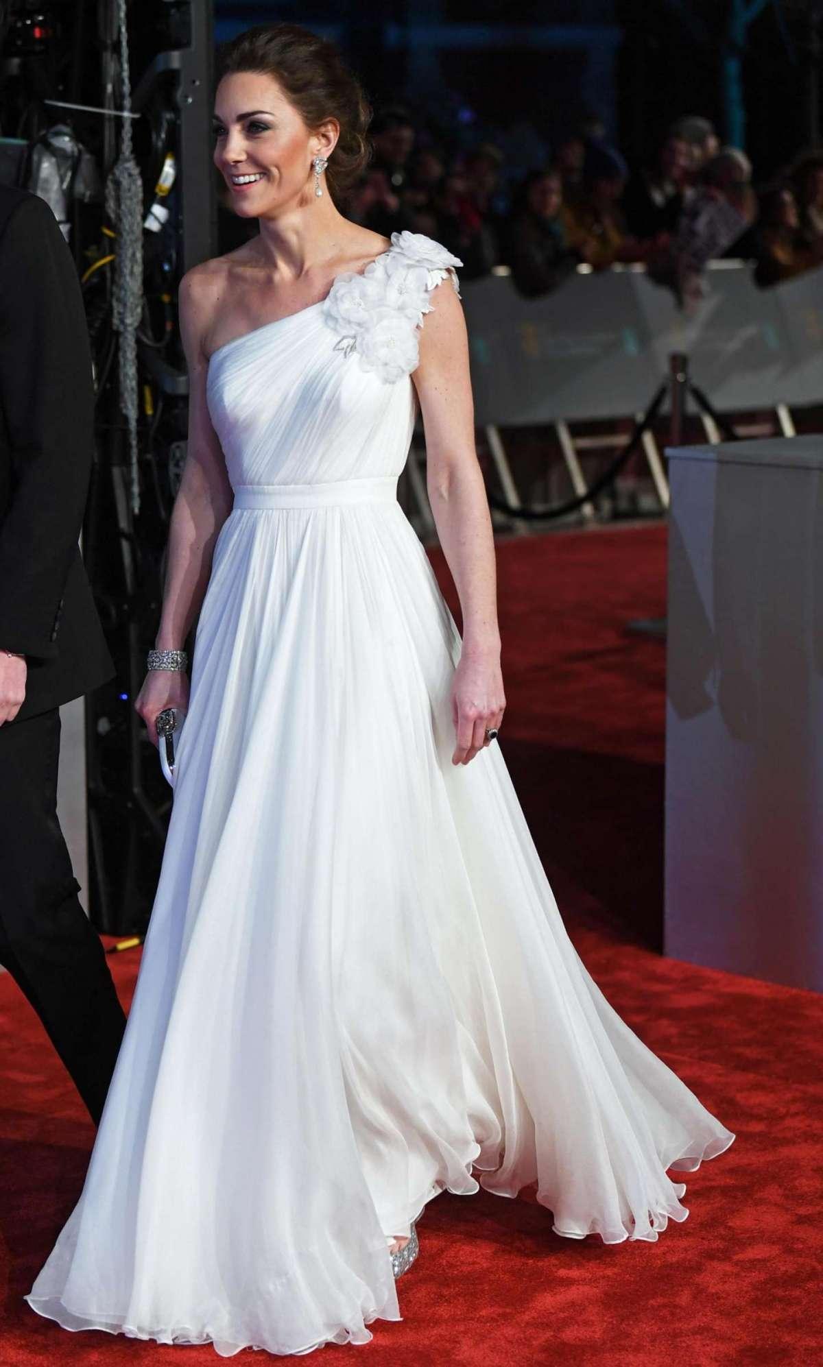 I dettagli dell'abito di Kate