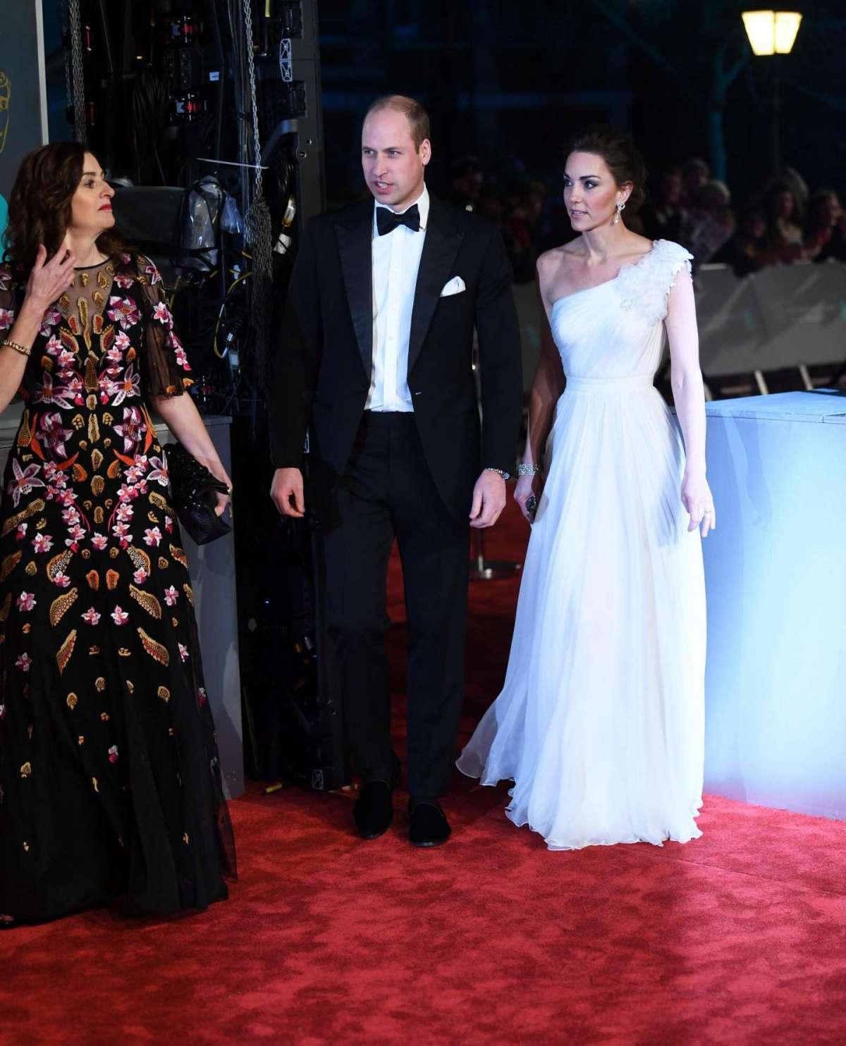 Kate e William ai BAFTA