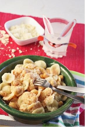 Orecchiette con la mozzarella