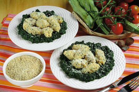 Orzo agli spinaci