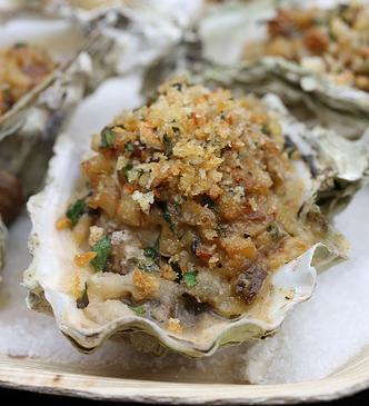 ostriche gratinate ricetta