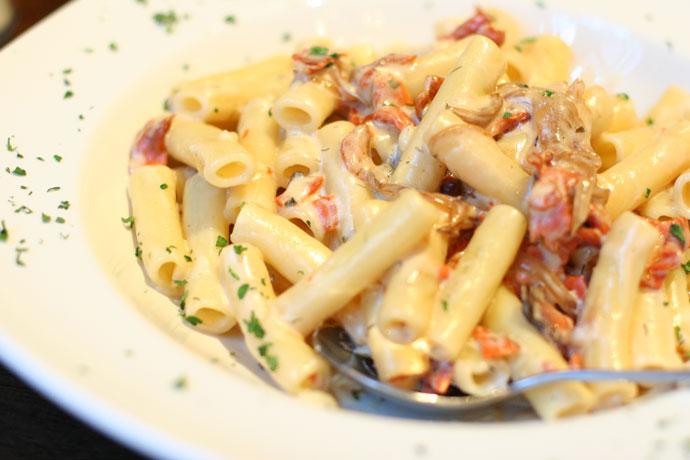 Ricetta pasta con salmone pourfemme for Ricette primi piatti veloci bimby