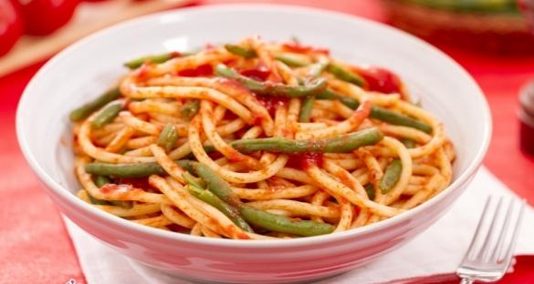 pasta e fagiolini alla pugliese