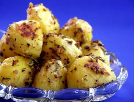 patate all aglio