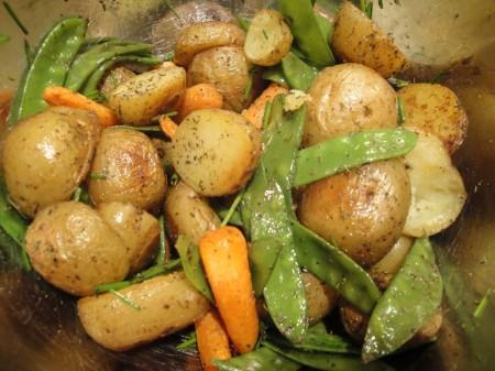 patate e taccole