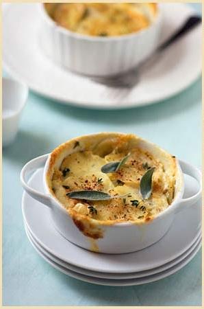 Cocotte di patate e formaggio