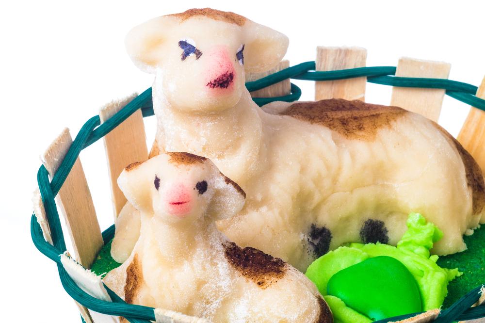 Pecorella al marzapane