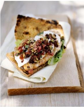 pesce persico grigliato