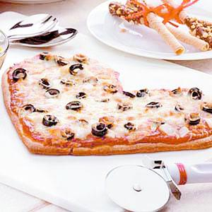 Pizza romantica