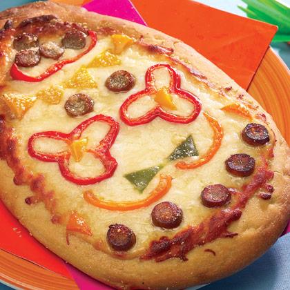 Pizza a forma di uovo