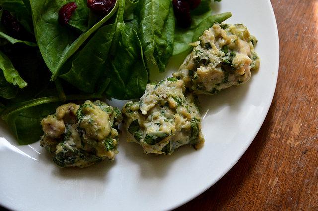 polpette di carne e spinaci turche
