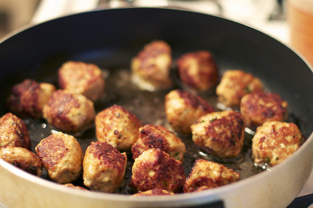 polpette di pollo e pecorino ricetta