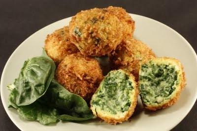 polpettine di spinaci ricetta