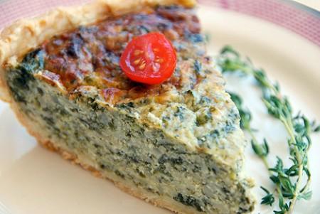 Quiche spinaci e ricotta