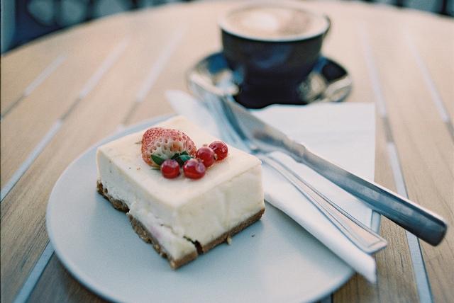 ricetta americana cheesecake