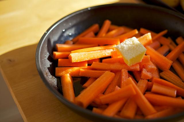 ricetta carote al burro