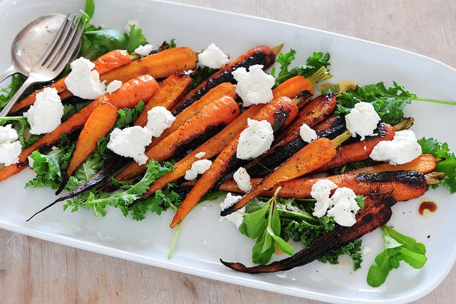 ricetta carote all'insalata