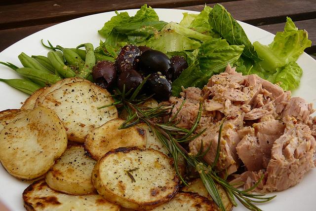 ricetta di insalata tonno con patate