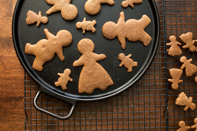 ricetta gingerbread cookies