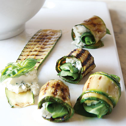 ricetta involtini zucchine ricotta