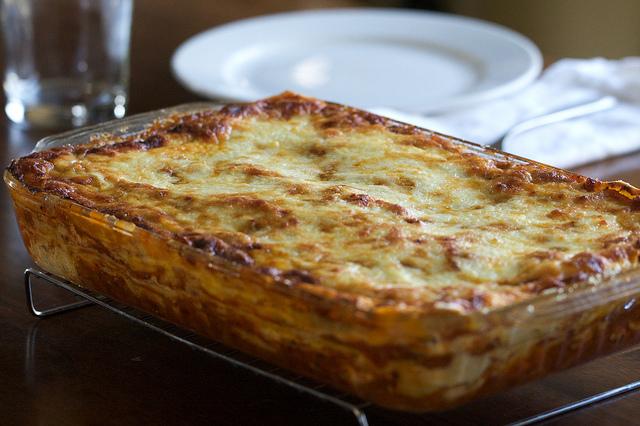 ricetta lasagna allo stracchino