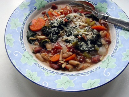 ricetta minestrone