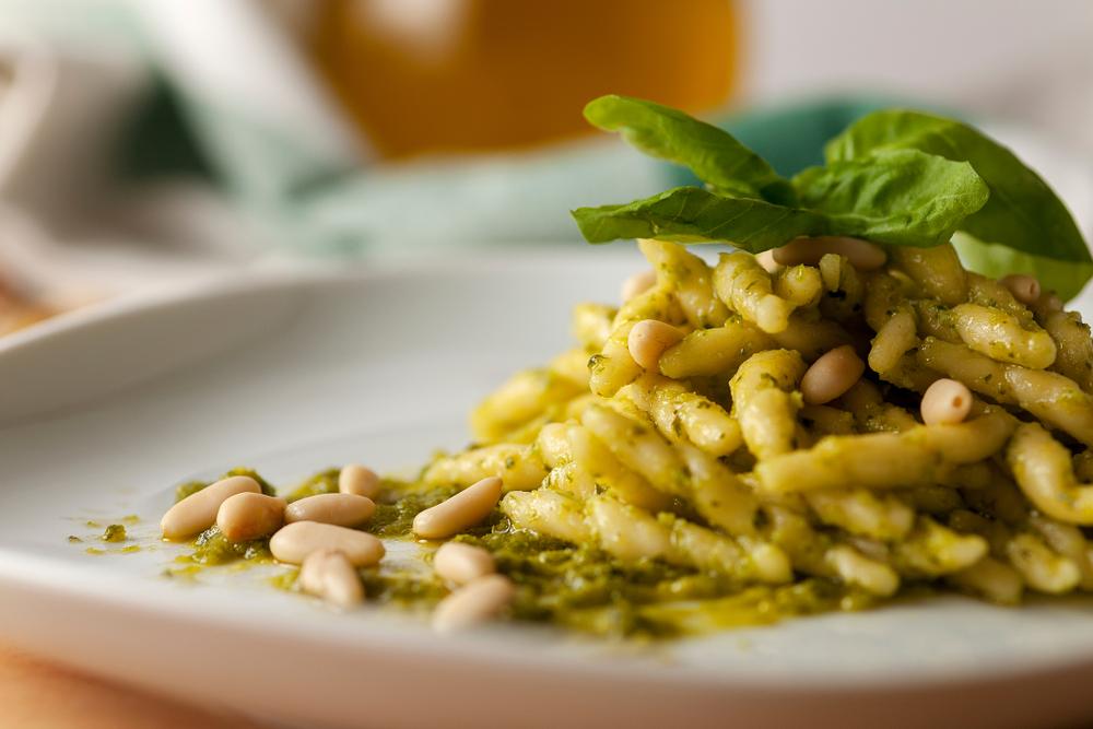 ricetta pasta pesto