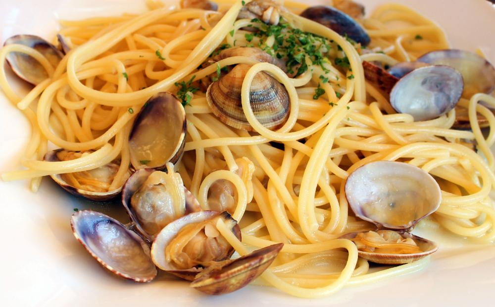 ricetta pasta vongole