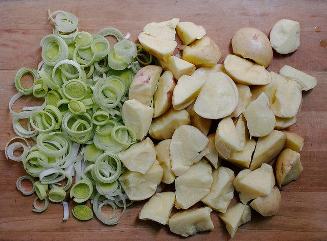 ricetta porri e patate