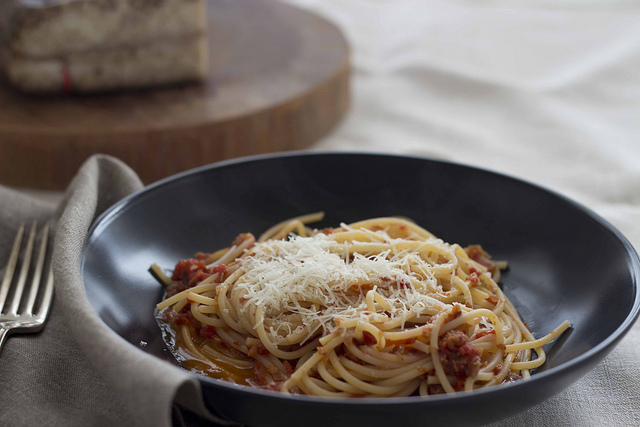 ricetta sugo all'amatriciana