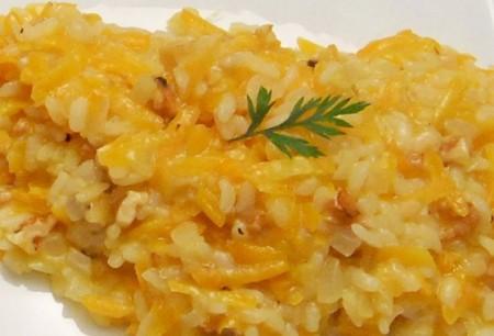 riso carote noci