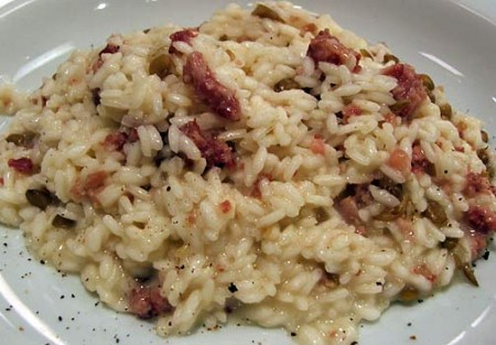 risotto verza cotechino