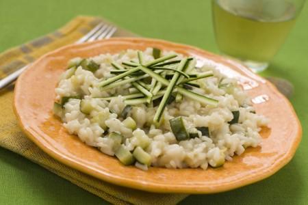 risotto zucchine taleggio
