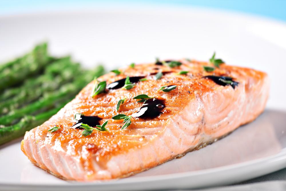 Salmone al forno light
