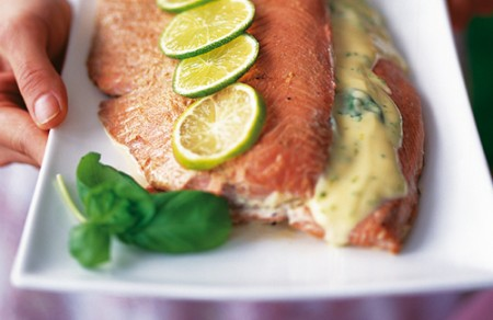 salmone con lime