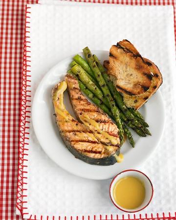 Salmone grigliato light