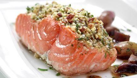 salmone pistacchio