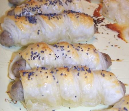 salsicce pasta sfoglia