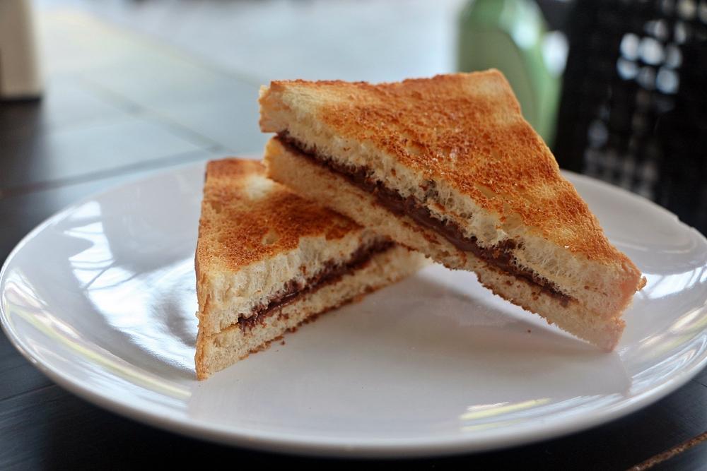 Sandwich alla nutella