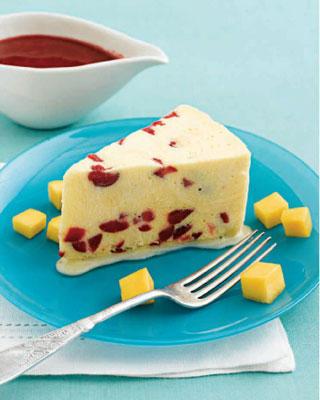 semifreddo con mango e yogurt