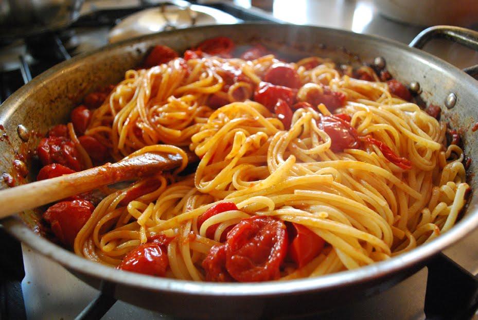 spaghetti abbondanti