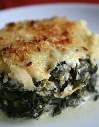 spinaci al gratin ricetta