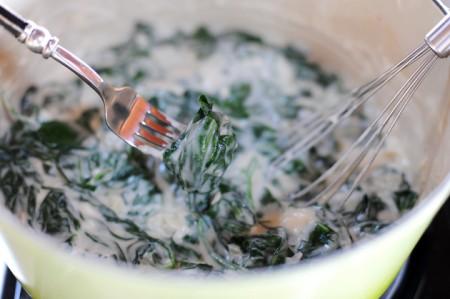 spinaci alla panna