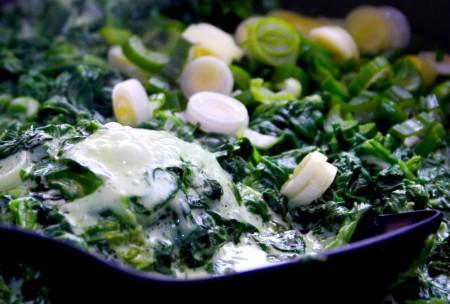 spinaci parmigiano