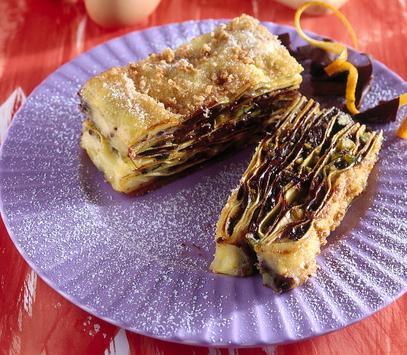 strudel cioccolato ricetta