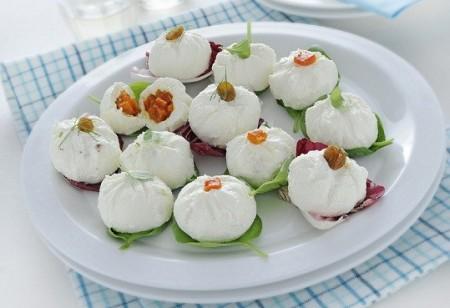tartufi salati.caprino