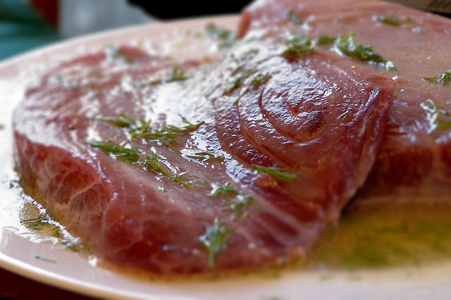 tonno marinato