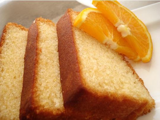 torta all'arancia della nonna