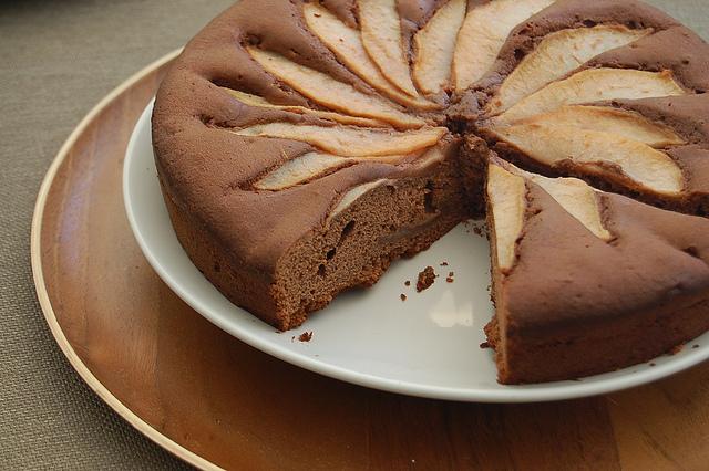 torta cacao e pere ricetta