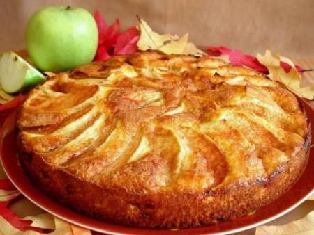Torta di mele light con il Bimby